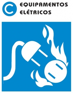 extintores de incêndio tipo Classe C