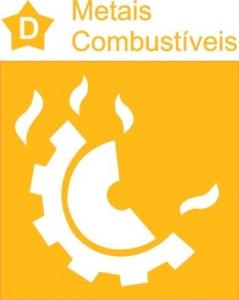 Os extintores de incêndio para para metais combustíveis é o Classe D