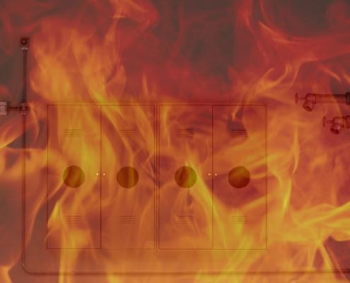 teste hidrostático de mangueiras de incêndio