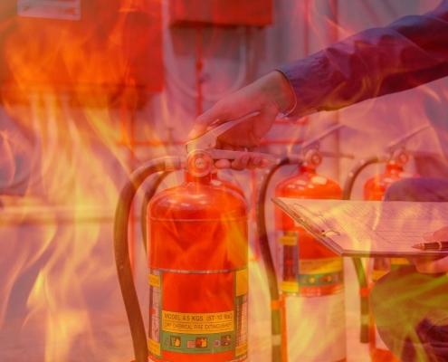 Manutenção em extintores: nível I, II e III