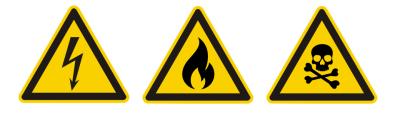 Sinalização de emergência de alerta