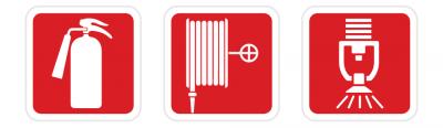 Sinalização de emergência de equipamentos